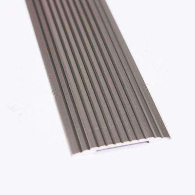 Pewter Fluted 36 in. x 1-1/4 in. Seam Binder