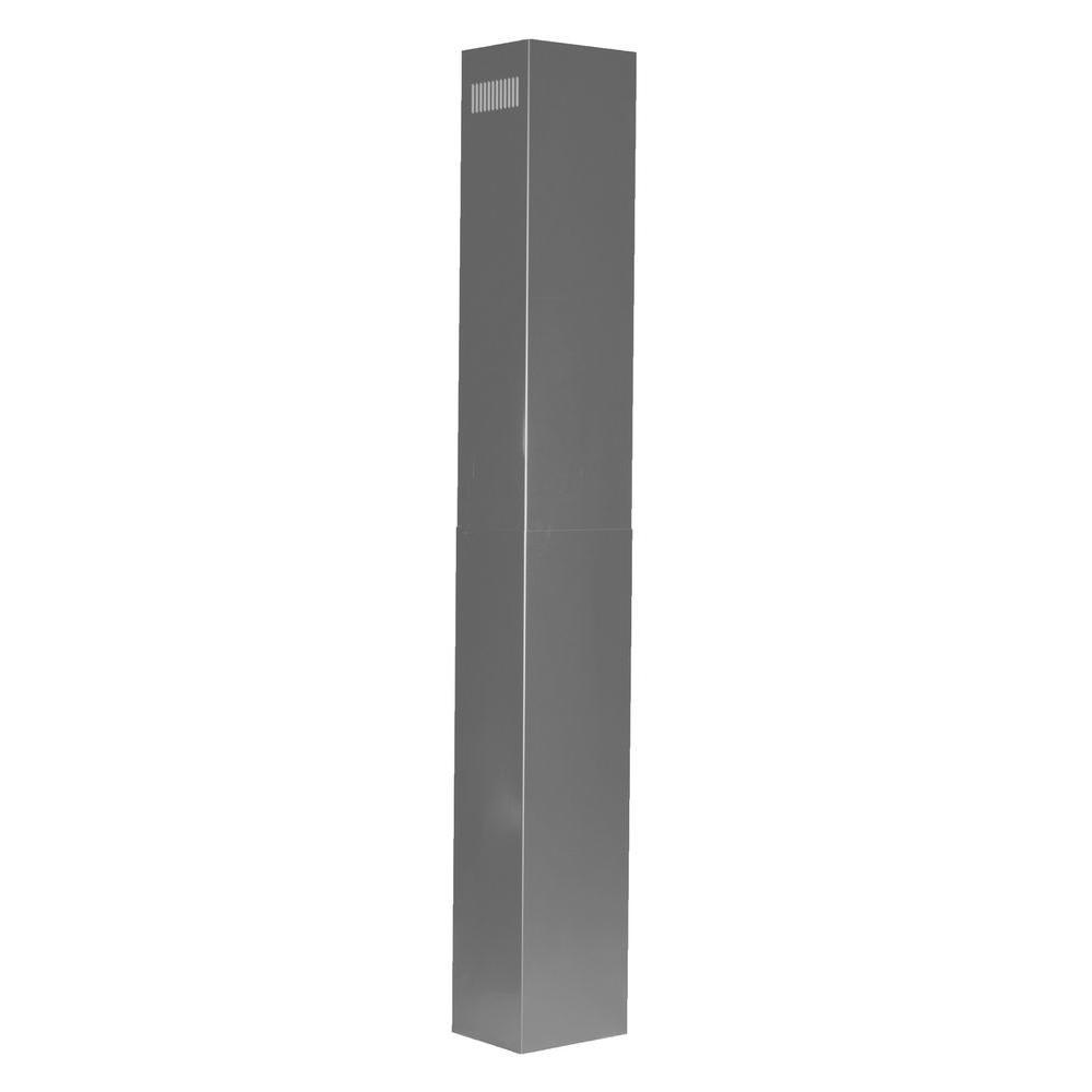 Zline Kitchen And Bath Zline Two 36 In. Chimney Extensions For 10 Ft. To 12 Ft. Ceilings