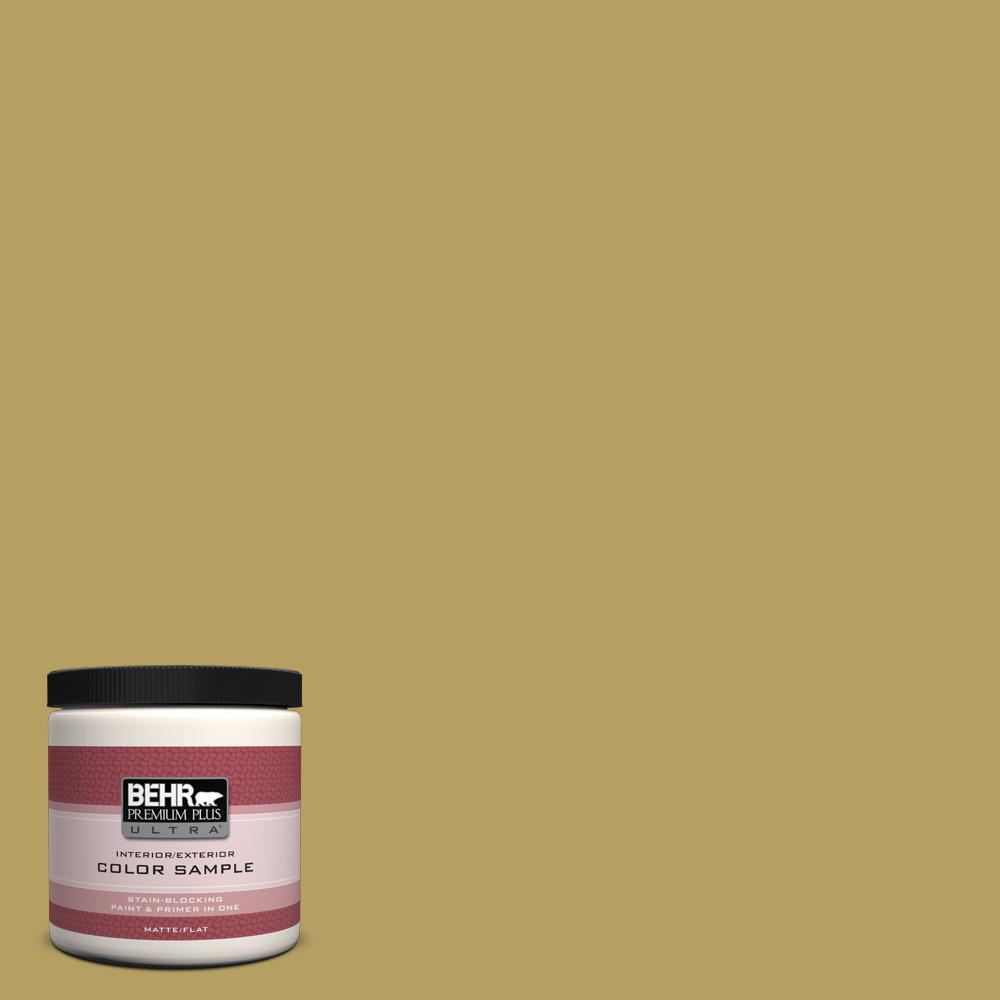 BEHR Premium Plus Ultra 8 oz. Home Decorators Collection Apple Wine Interior/Exterior Paint Sample