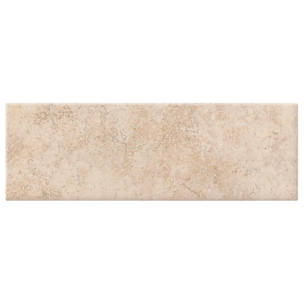 Briton Bone 4 in. x 12 in. Ceramic Wall Tile (10.64 sq. ft. / case)