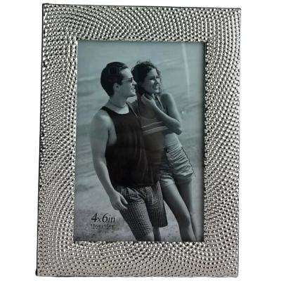4 in. x 6 in. Silver Color Picture Frame