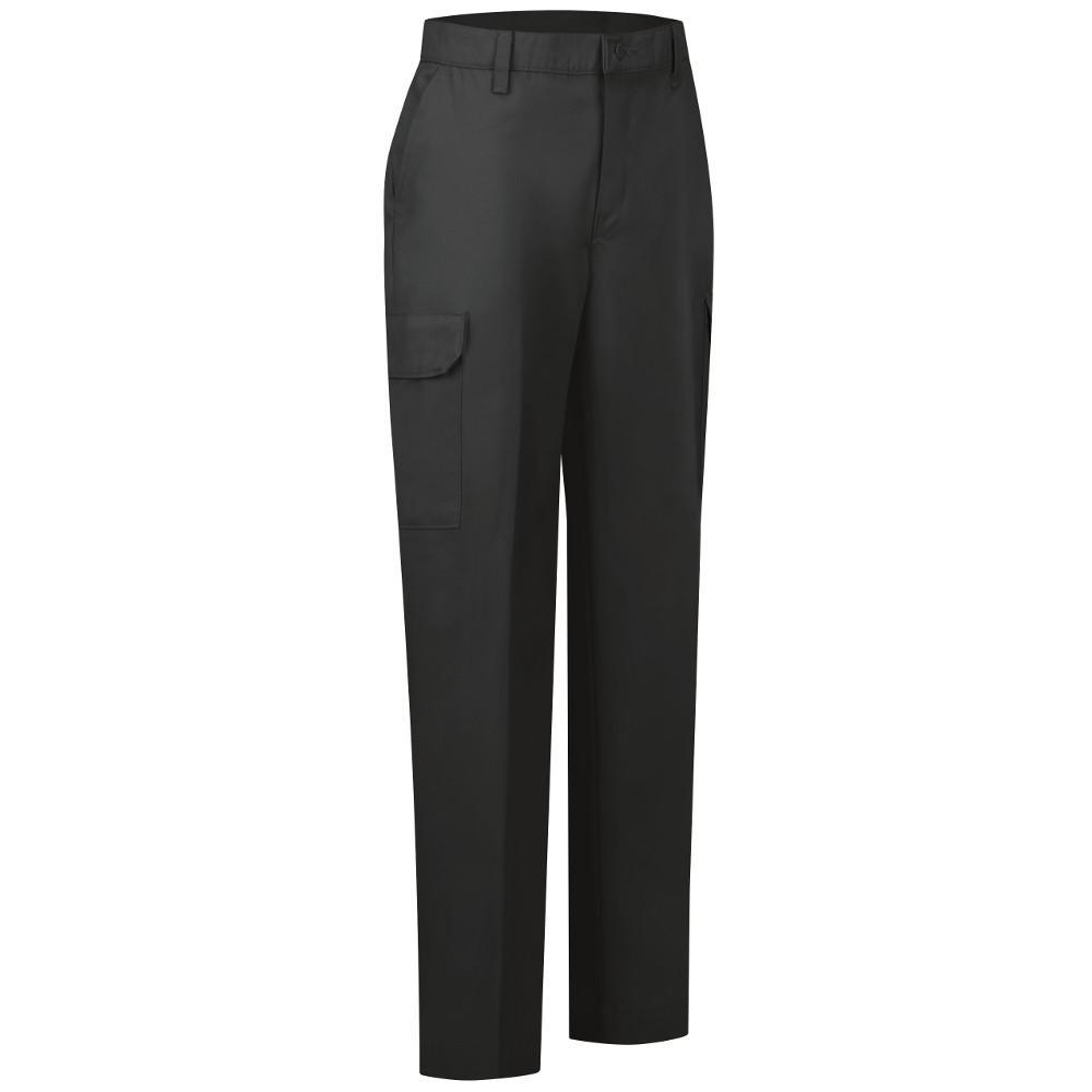 0fe43162f048 Red Kap Women's Size 10 in. x 30 in. Navy Industrial Cargo Pant ...