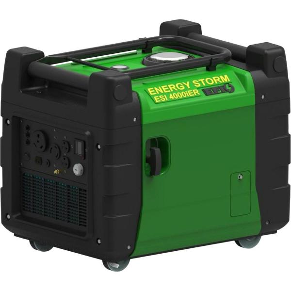 Energy Storm 4,000/3,800-Watt Gasoline Powered EFI Electric/Remote Start Portable Generator w/Inverter and Fuel Injected