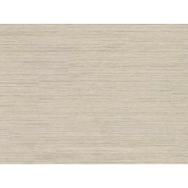 8 in. x 10 in. Tyrell Champagne Faux Grasscloth Wallpaper Sample