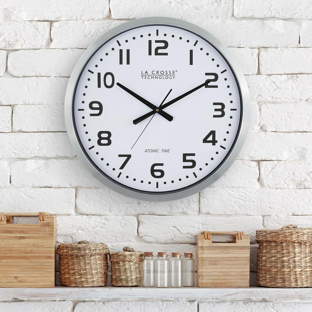 La Crosse Technology 20 In Large Analog Wall Clock 404 1220 The