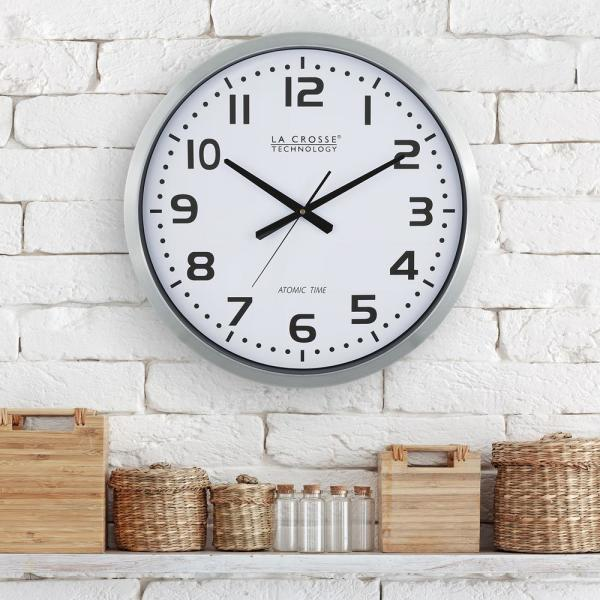 20 in. Large Analog Wall Clock