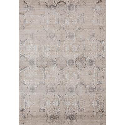 Soignee York Light Taupe 7 ft. 10 in. x 10 ft. 6 in. Area Rug