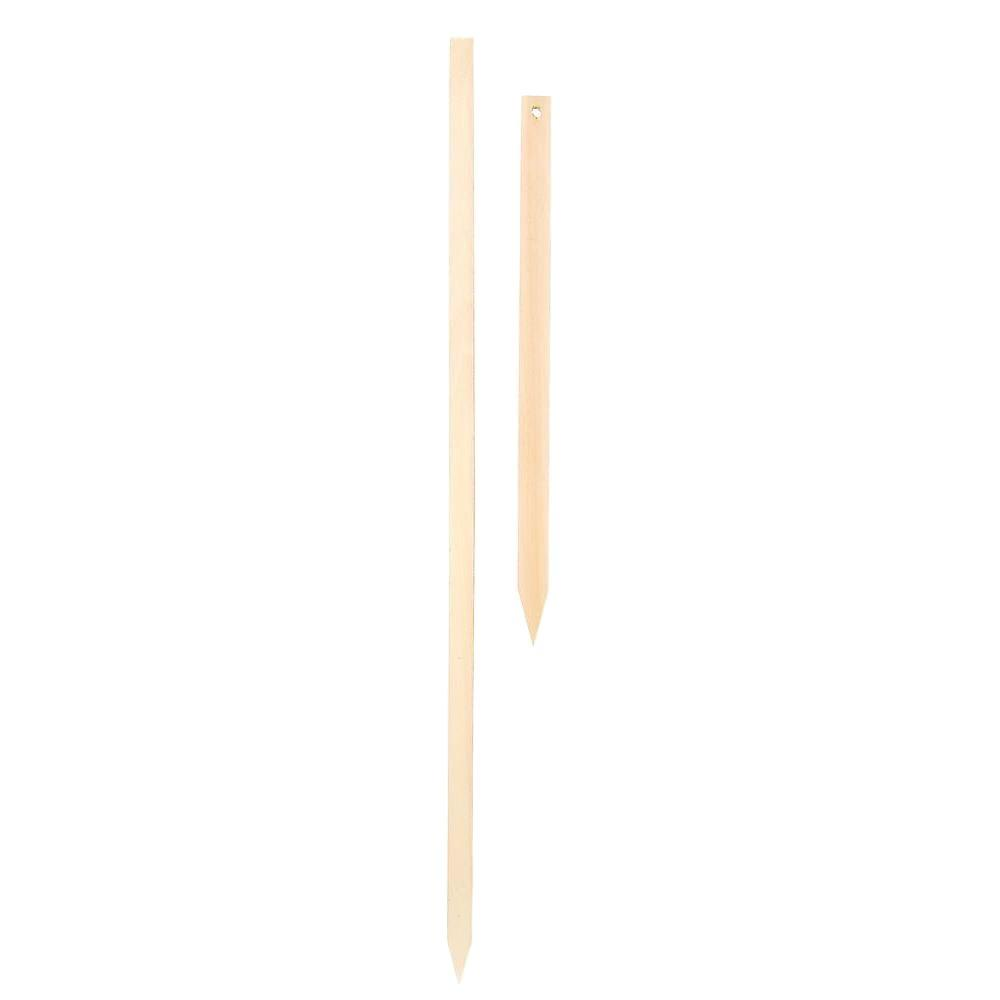 The Hillman Group 36 in. Wood Stake-843414 - The Home Depot