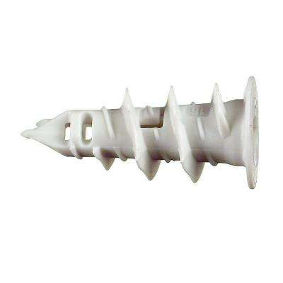 1-1/8 in. HFP Self-Drilling Nylon Drywall Anchors (100-Pack)