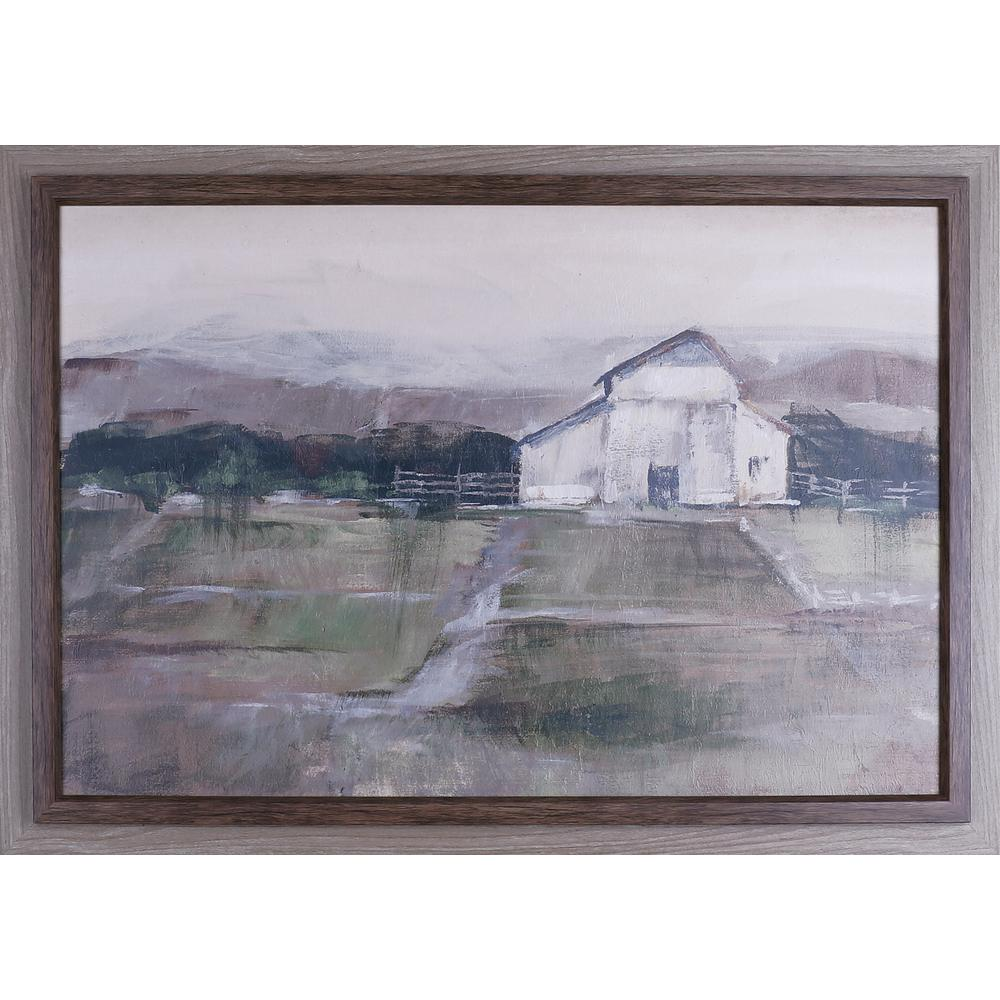 28X40 Rural sunset I, Framed printed paper wall art-N3008 - The Home ...