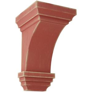 Factory Primed and Ready for Paint Ekena Millwork COR06X05X10HO-CASE-6 Corbel