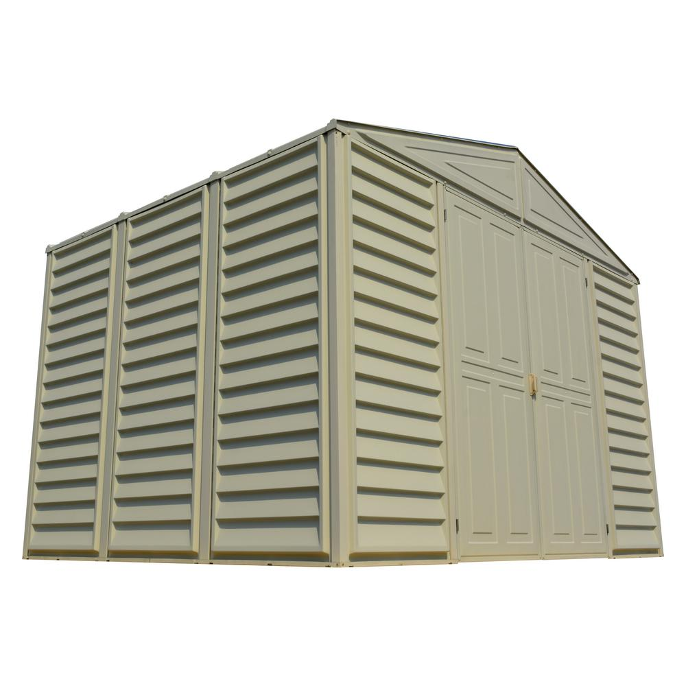 Duramax Building Products WoodBridge 10.5 ft. x 8 ft. Shed with Foundation