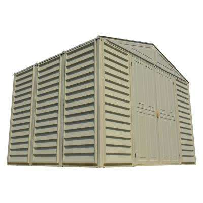 WoodBridge 10.5 ft. x 8 ft. Shed with Foundation