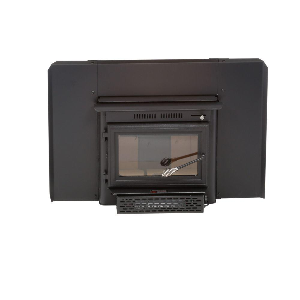 27.5 in. 1500 sq. ft. Wood-Burning Fireplace Insert