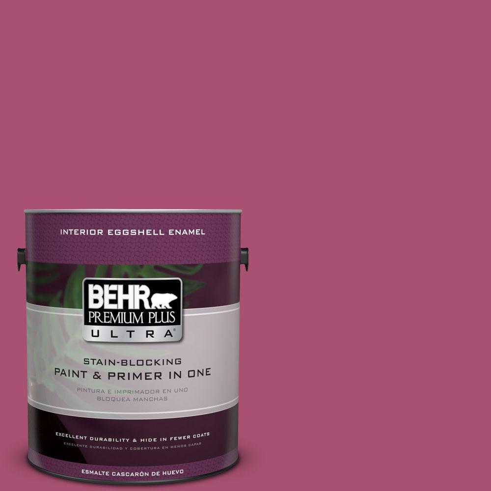 BEHR Premium Plus Ultra 1-gal. #110B-6 Cran Brook Eggshell Enamel Interior Paint