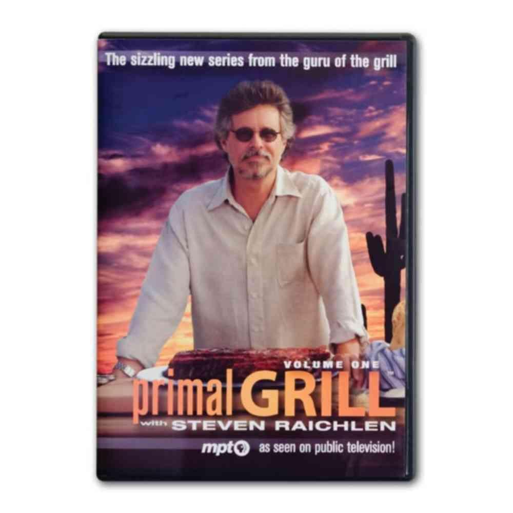 Steven Raichlen Primal Grill with DVD Vol 1