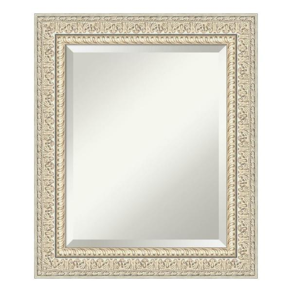 Amanti Art Fair Baroque Cream Bathroom Vanity Mirror DSW4093767