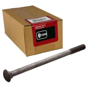 Everbilt 1/2 inch - 13 tpi x 10 inch Galvanized Coarse Thread Carriage Bolt... by Everbilt