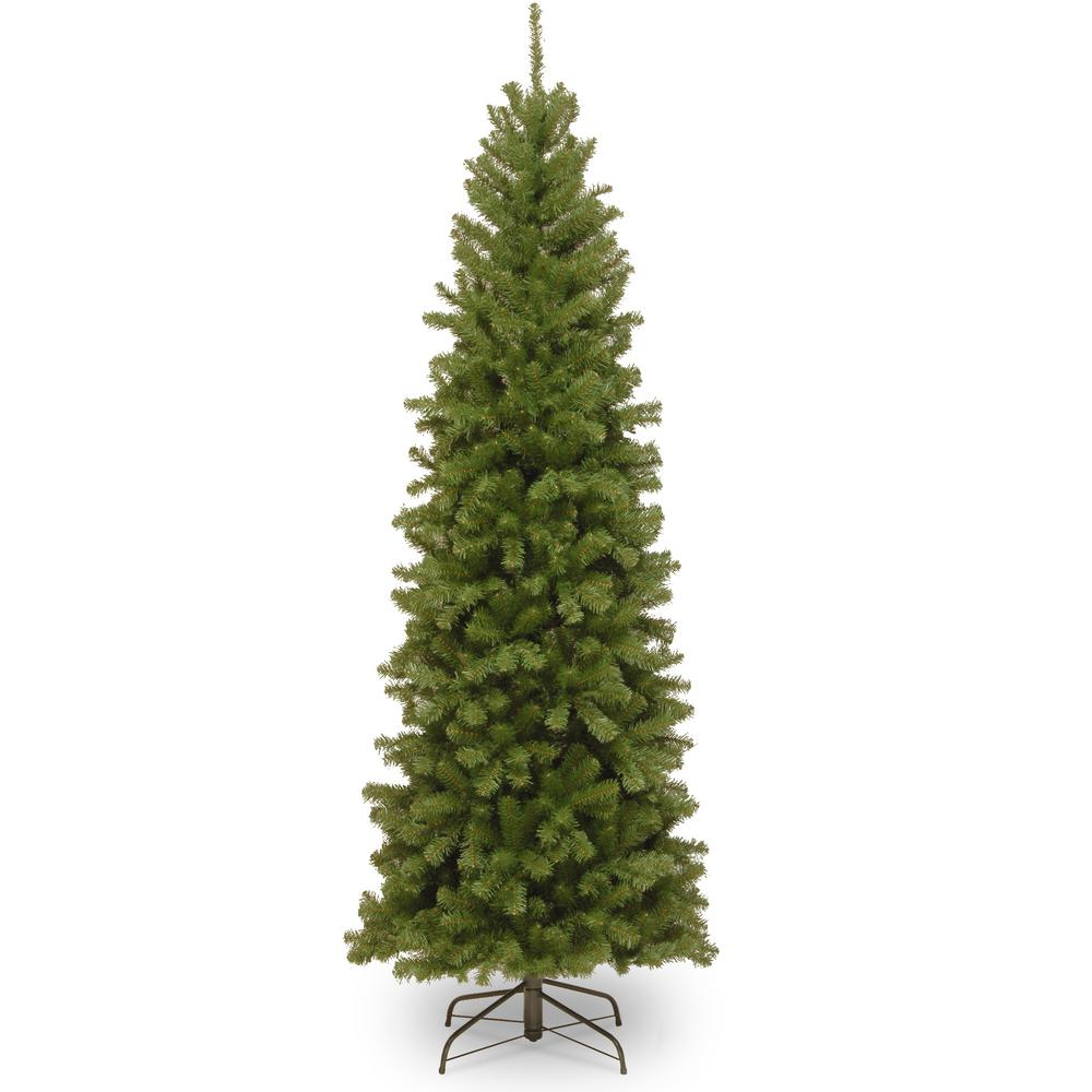 6.5 ft. North Valley Spruce Pencil Slim Artificial Christmas Tree