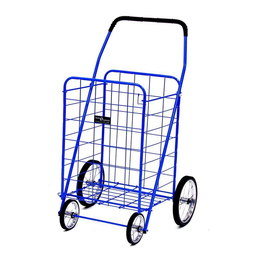 Jumbo Shopping Cart in Blue