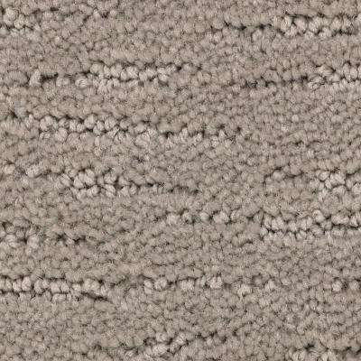 Carpet Sample - Enchantment - Color Ostrich Pattern 8 in. x 8 in.