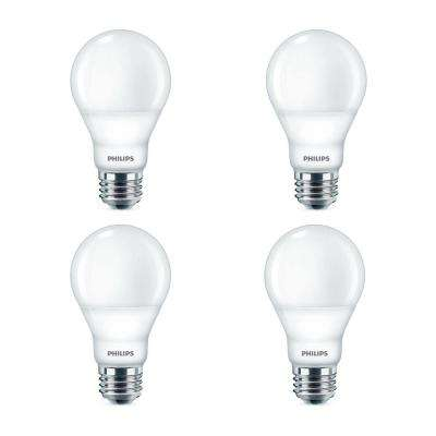 60-Watt Equivalent A19 Dimmable Energy Saving LED Light Bulb Daylight (5000K) (4-Pack)