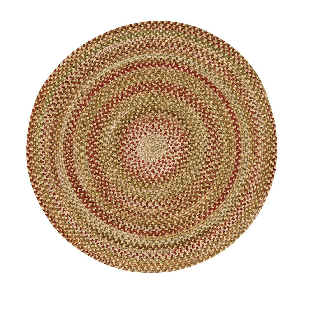 Capel Applause Wheatfield 3 ft. Round Accent Rug