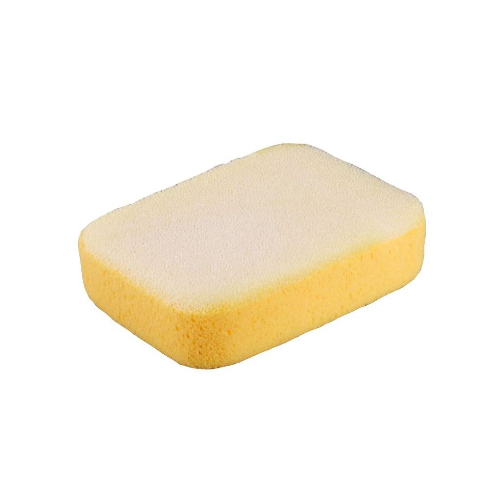 QEP 7-1/2 in. x 5-1/4 in. x 2 in. Grouting, Scrubbing, Cleaning and Washing Sponge