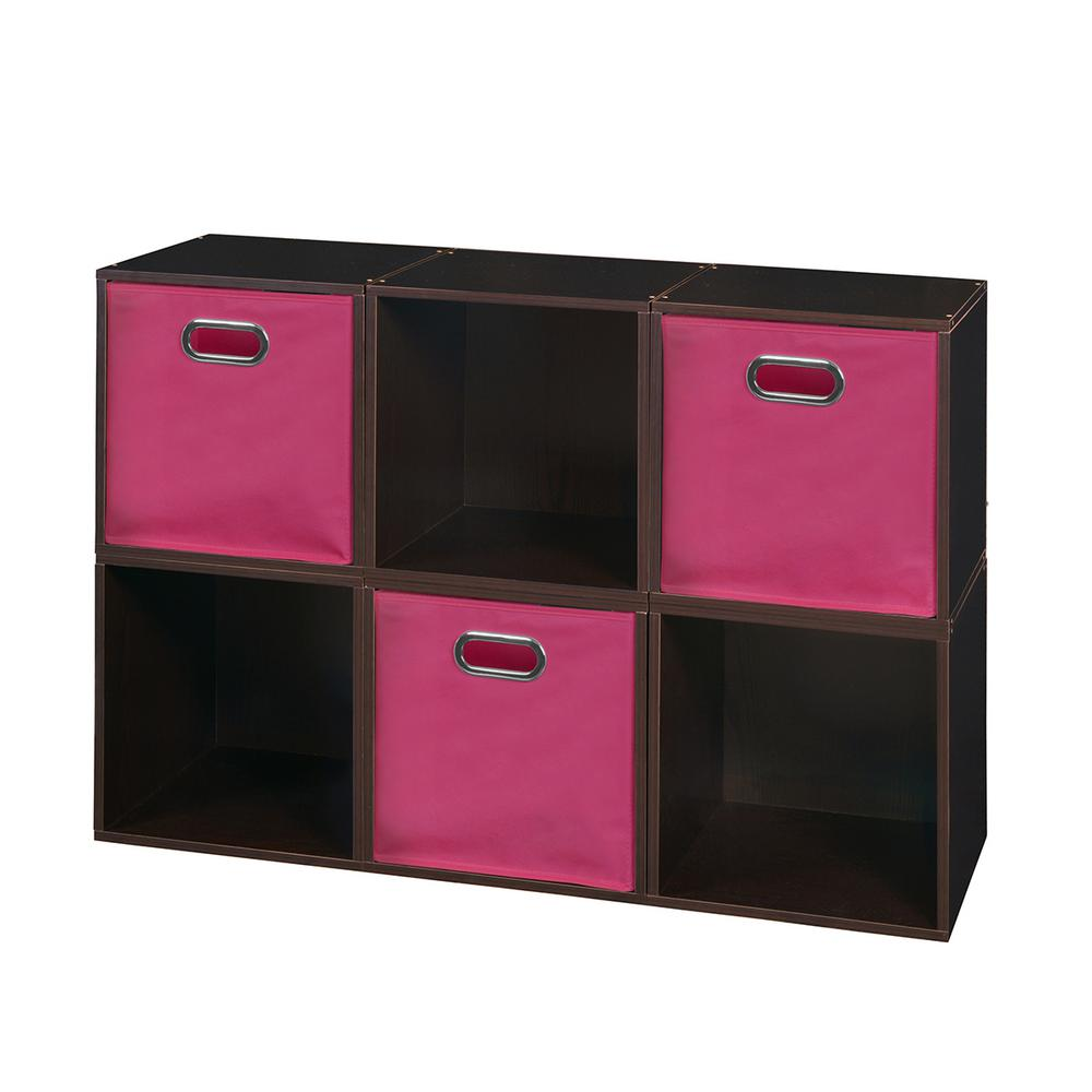 Niche Cubo 39 In X 26 In Truffle Pink 6 Cube And 3