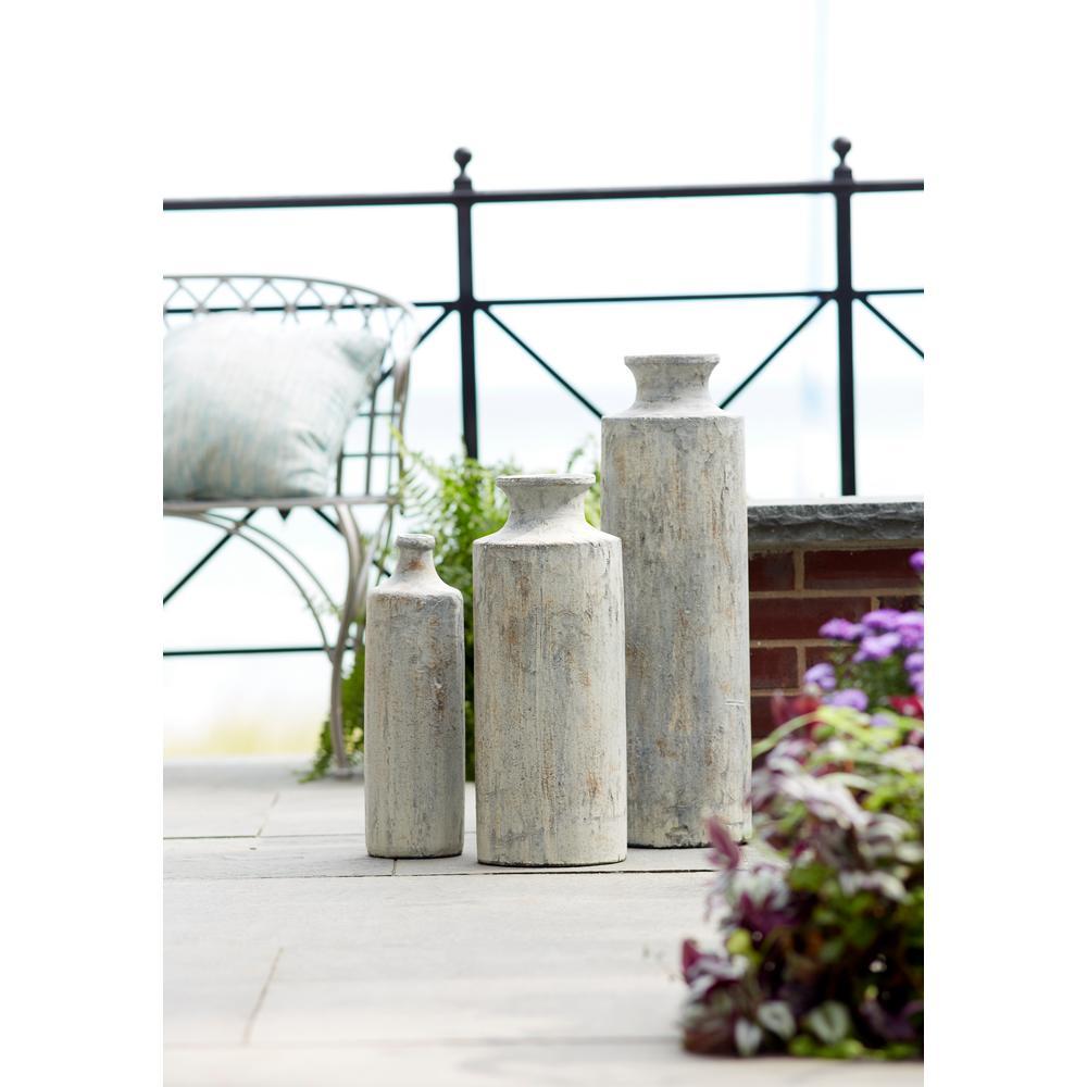 20 in. H Ceramic Vase