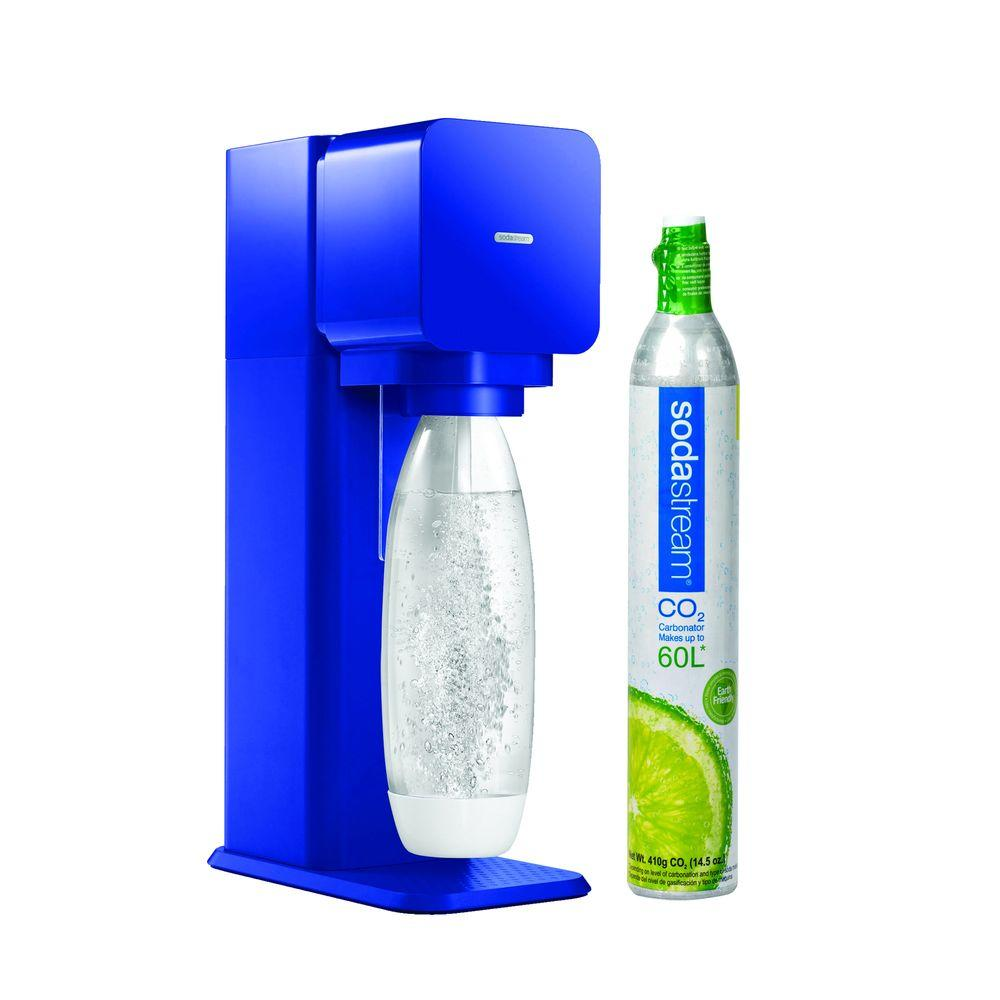 SodaStream Play Home Soda Maker Starter Kit in Blue