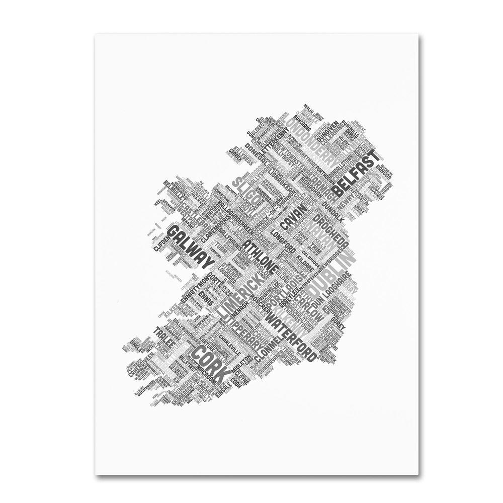 19 in. x 14 in. Ireland VII Canvas Art