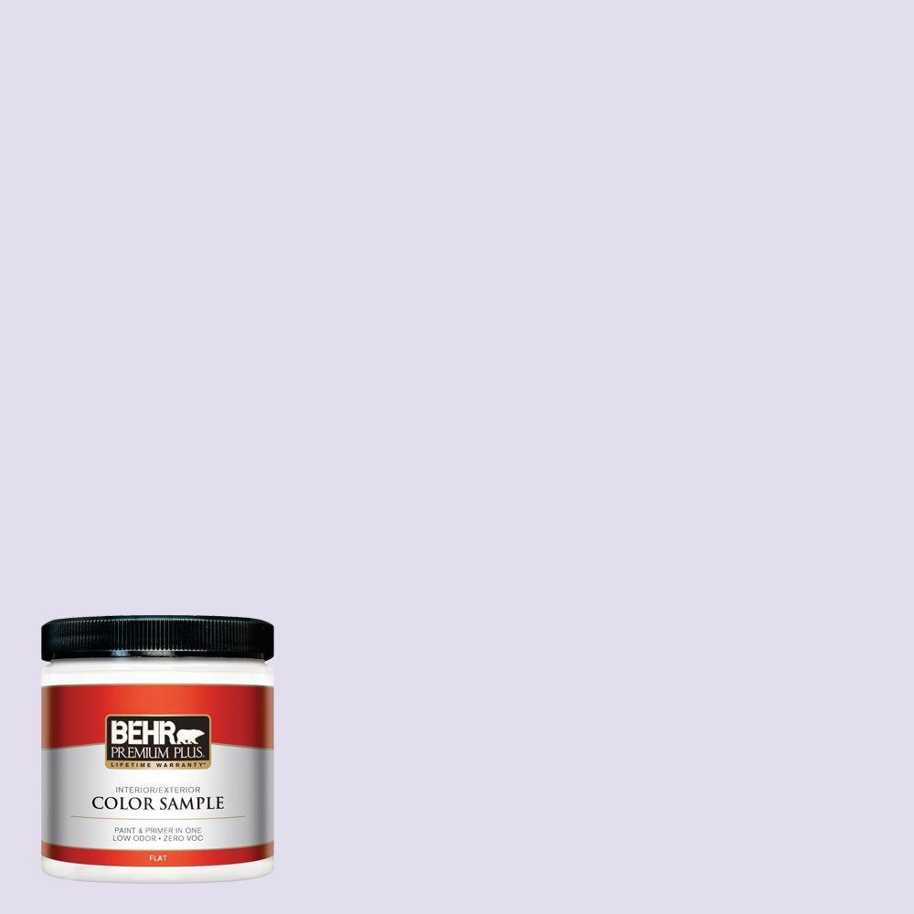 8 oz. #650C-2 Powdery Mist Interior/Exterior Paint Sample
