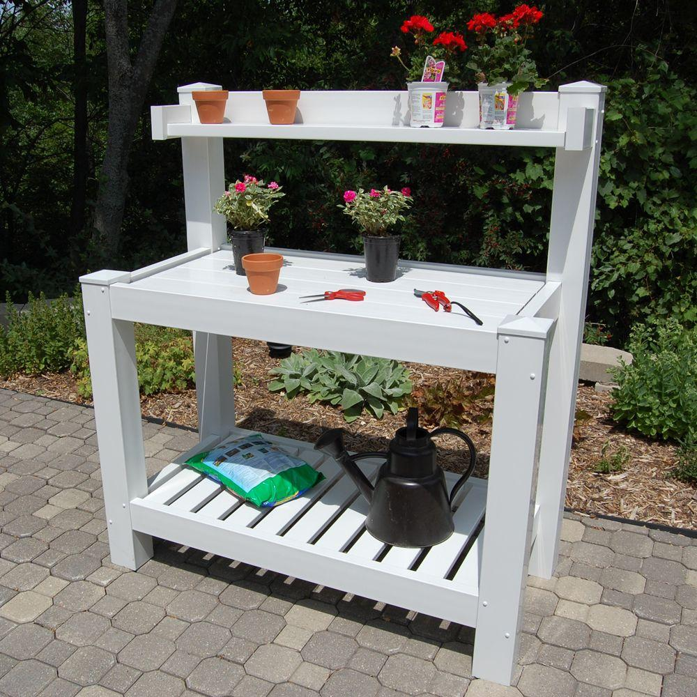window paradeofgardens vintage best plant images garden potting table bench and on tables pinterest