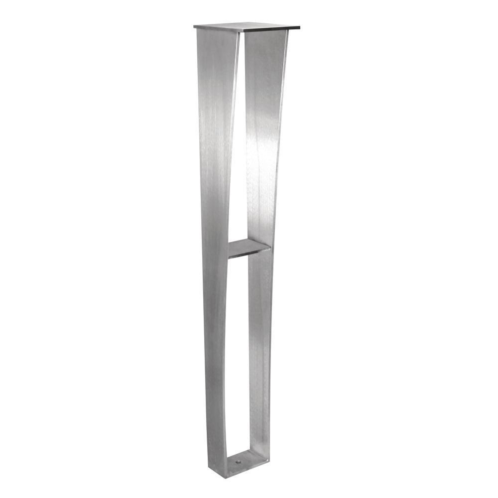 Federal Brace Anteris 34 5 In Stainless Steel Countertop Leg