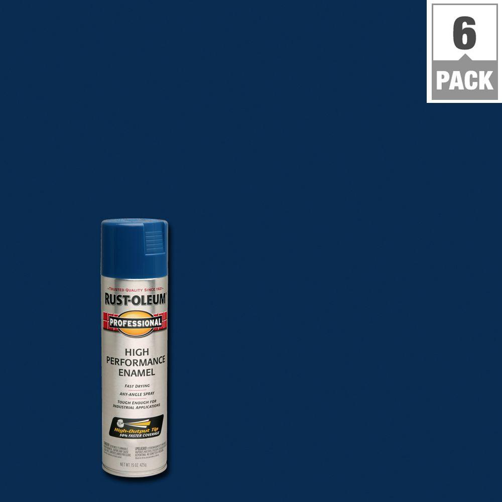 15 oz. Gloss Royal Blue Spray Paint (6-Pack)