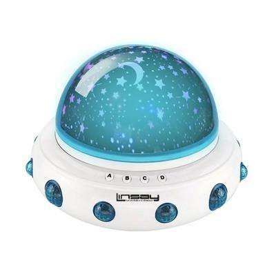 Smart Kids Lamp Projector Universe Incandescent and Night Light