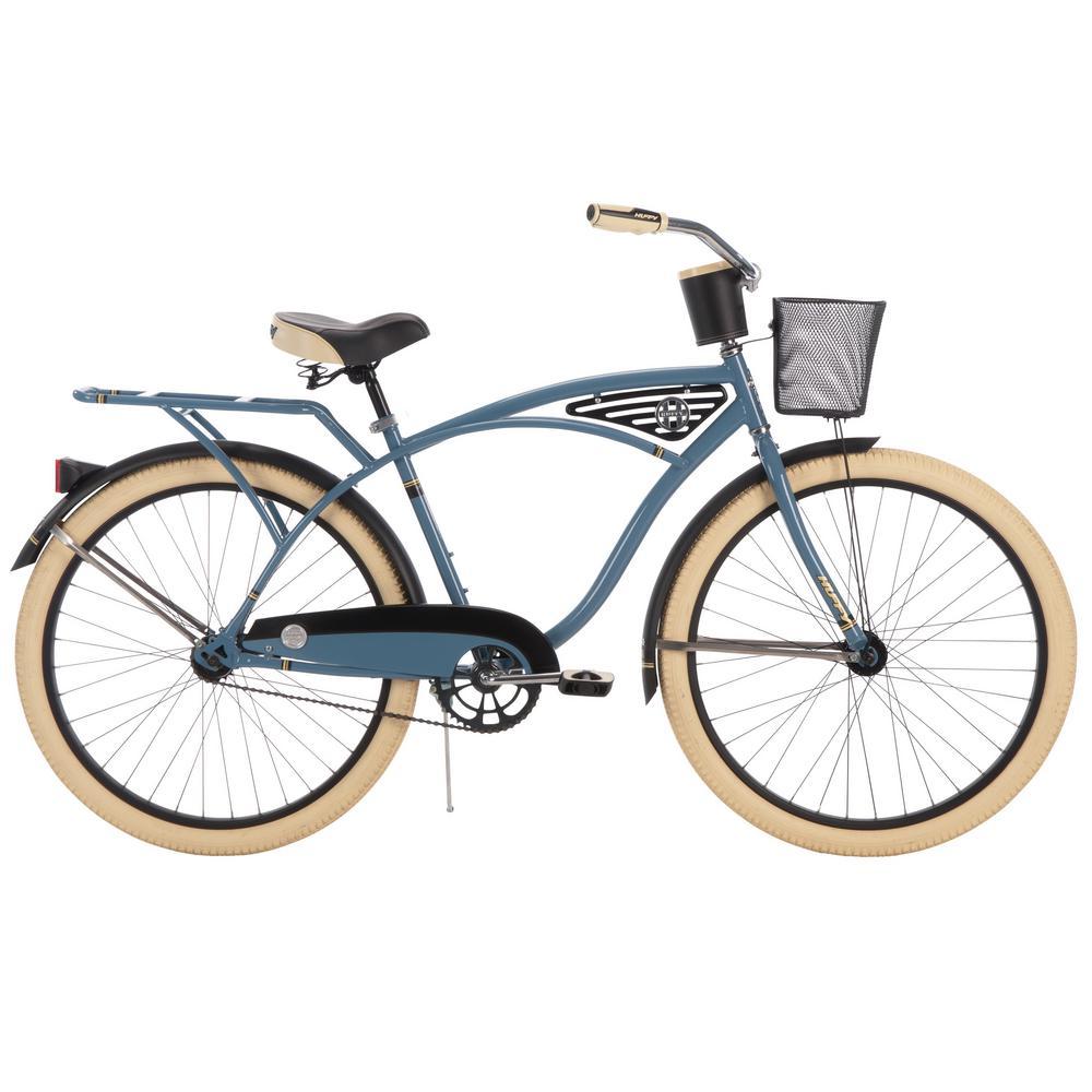 Huffy Deluxe 26 in. Men's Classic Cruiser Bike, Multi