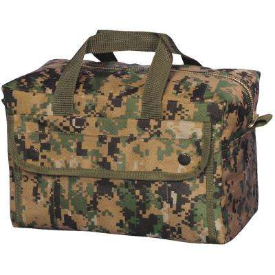 11 in. Mechanic's Tool Bag with 2-Pockets in Digital Woodland