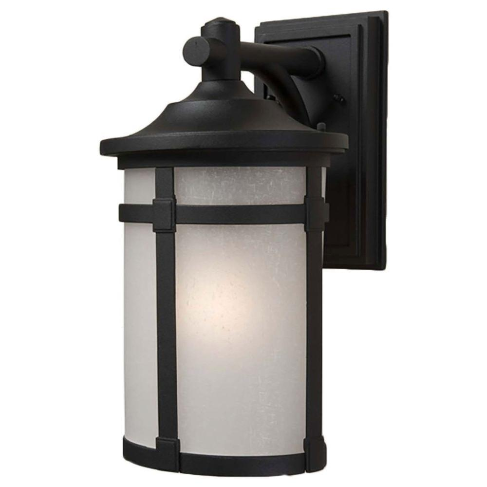 Beyer 1-Light Black Outdoor Wall Sconce