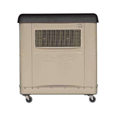 1600 CFM 2-Speed Portable Evaporative Cooler for 800 sq. ft. (with Motor)
