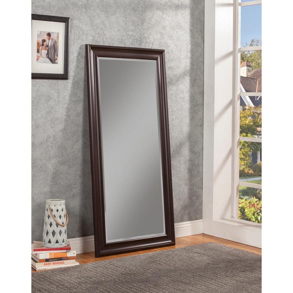 Sandberg Furniture Espresso Full Length Leaner Floor Mirror by Sandberg Furniture