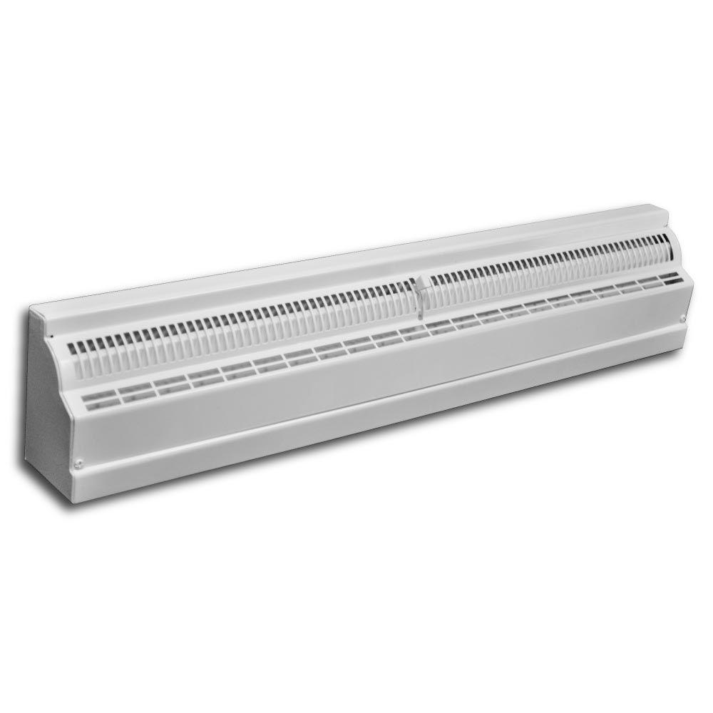 TruAire 24 In Baseboard Diffuser Deluxe H121SW24 The Home Depot
