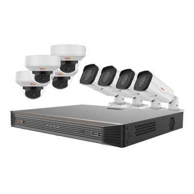 Ultra HD Commercial Grade 16-Channel 4TB NVR Surveillance System with 8 4K Cameras and True WDR