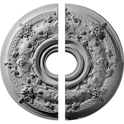 29-1/4 in. O.D. x 6 in. I.D. x 2 in. P Darnay Ceiling Medallion (2-Piece)