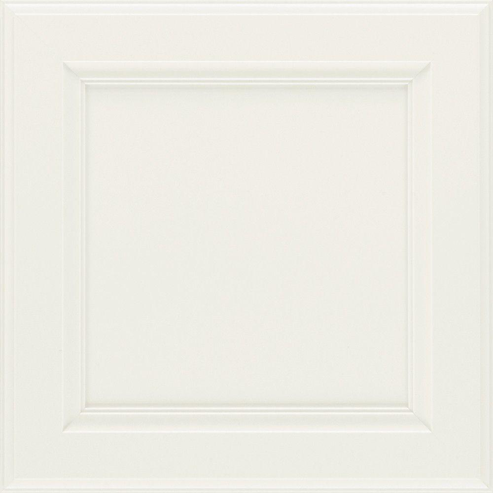 Martha Stewart Living 14.5x14.5 in. Cabinet Door Sample in Wainscott Picket Fence