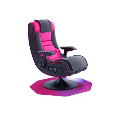 "Colortex® 9Mat® Polycarbonate 9-Sided Pink Gaming E-Sport Chair Mat for Carpets up to 1/2"" - 38"" x 39"""