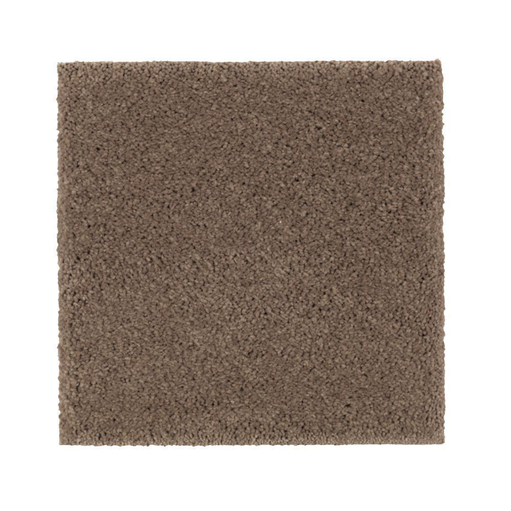 Carpet Sample - Gazelle II - Color Havana Texture 8 in. x 8 in.