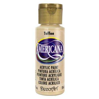 Americana 2 oz. Toffee Acrylic Paint