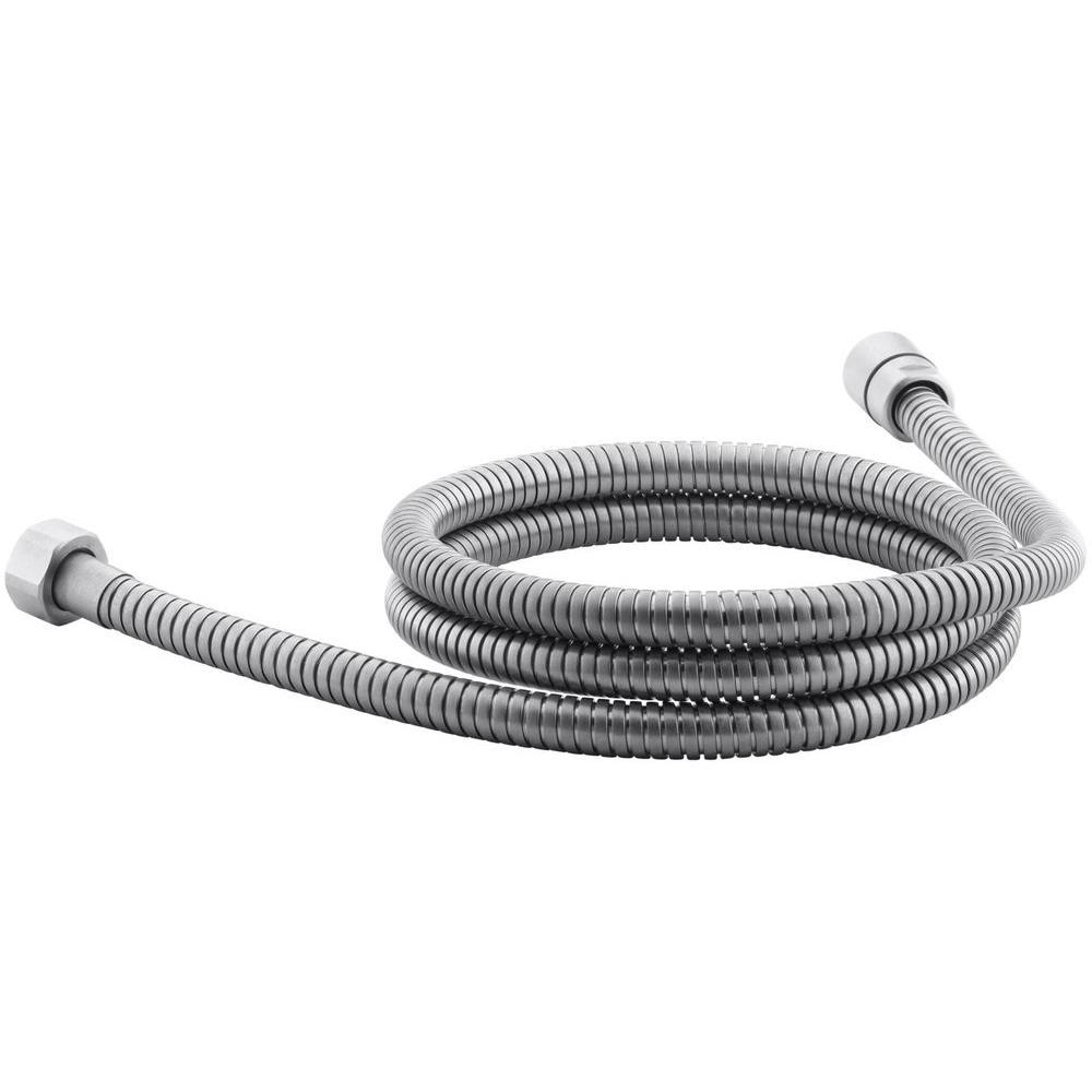 Kohler mastershower 72 in metal shower hose in brushed - Hand shower hose ...